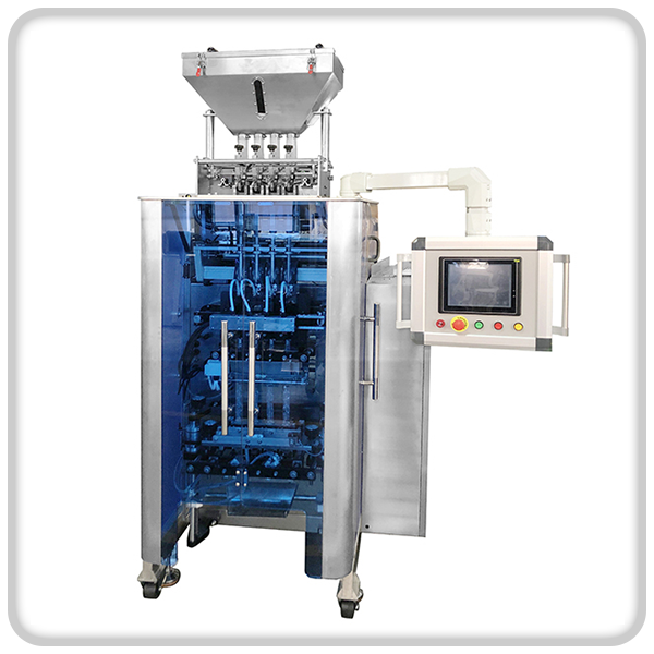 Multi-row packing machine